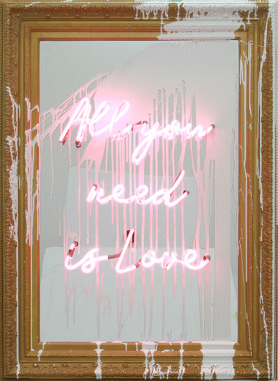 Mr. Brainwash, 'All You Need Is Love', 2018