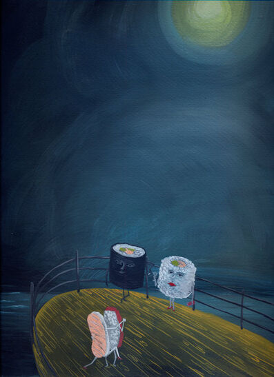 Agnese Guido, 'Sushi love night', 2018