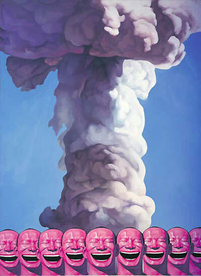 Yue Minjun, 'Mushroom Cloud - Planche No. 19'