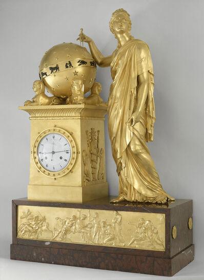 'Pendule ayant pour sujet Uranie (Pendulum with subject Urania)', 1813
