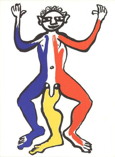 Alexander Calder, 'Three Legged Figure', 1963