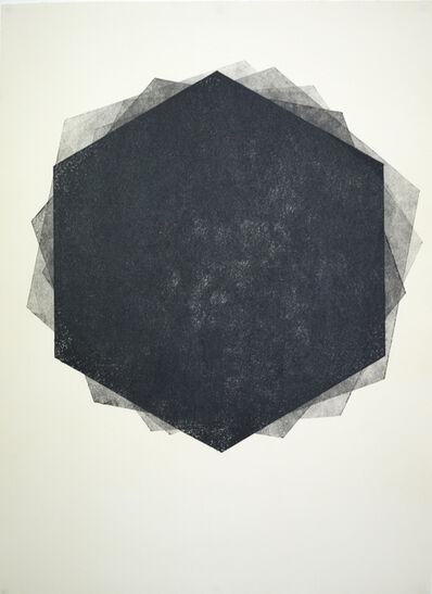 Luis Romero, 'Sin título VI (Héxagono)', 2014