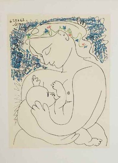 Pablo Picasso, 'Maternite' (Mother and Child)', 1963