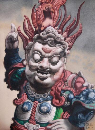Cheng Liu 陳流, '护法; God of Protection', 2015