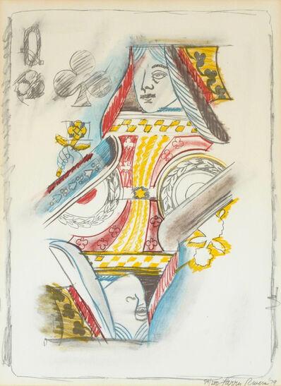 Larry Rivers, 'Queen of Spades', 1979