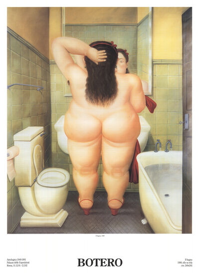Fernando Botero, 'The Bath (Il Bano)', 1991