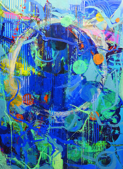 Edwin Wilwayco, 'Circles, On and On 2', 2016