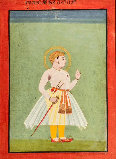 India, Mewar, 'Raja Karan Singh', Mid 18th century