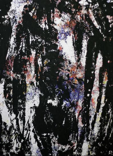 Markus Keibel, '4 Colours / carbon black 3', 2014