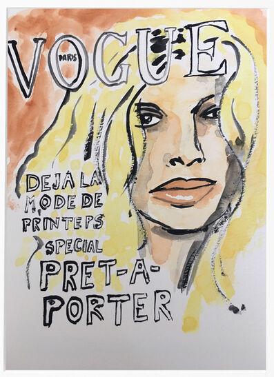 manuel santelices, 'Vogue #1', 2016