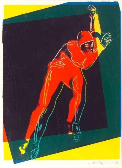 Andy Warhol, 'Speed Skater', 1983