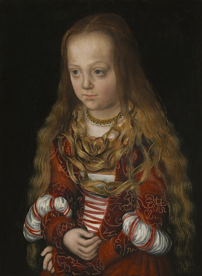 Lucas Cranach the Elder, 'A Princess of Saxony', ca. 1517