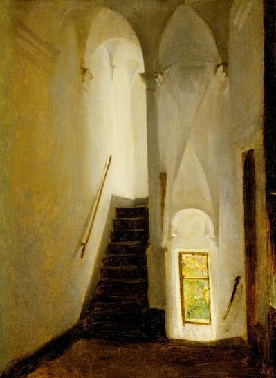 John Singer Sargent, 'Staircase', ca. 1878