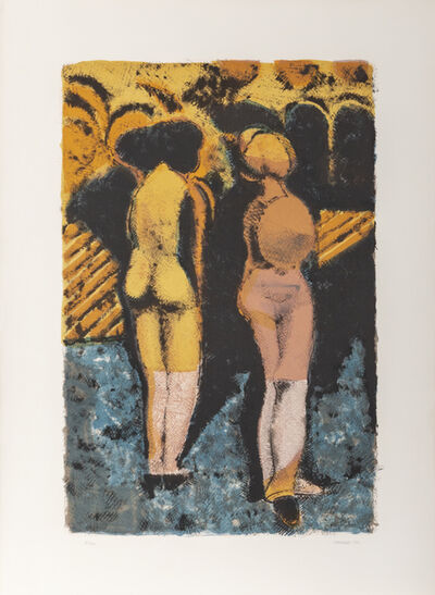 Armando Morales, 'Figuras', 1970