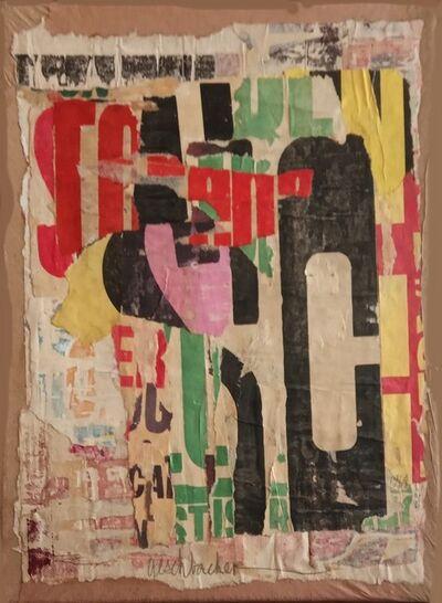 Arthur Aeschbacher, 'Cardère à Foulon', 1964