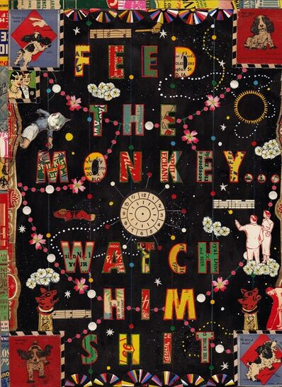 Tony Fitzpatrick, 'Feed The Monkey Watch Him Shit', 2013