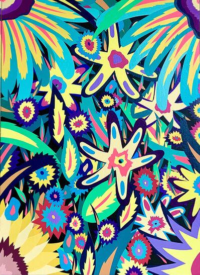 Michael Callas, 'Neon Flowers II (Glow in the Dark)', 2020