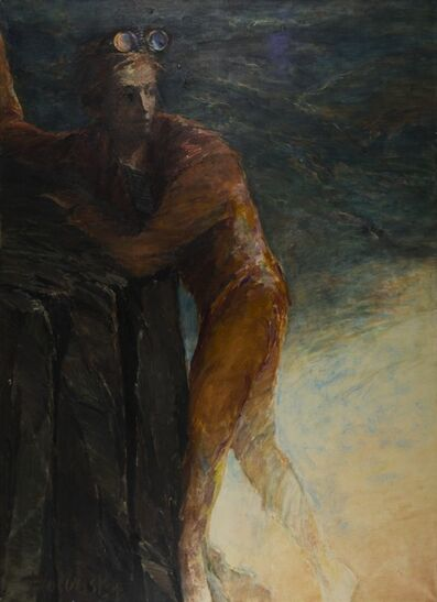 Arthur Polonsky, 'Ascent of the Swimmer-Spy', ca. 1975