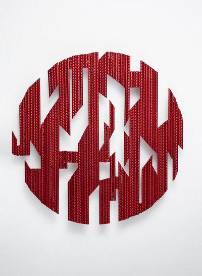 Christine Liebich, 'Dark Knight Circle Red 1', 2021