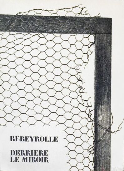 Paul Rebeyrolle, 'Rebeyrolle Derriere le Miroir, no. 202', 1973