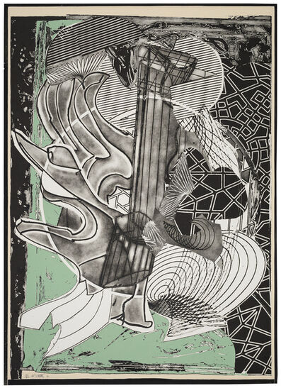 Frank Stella, 'The Fossil Whale ', 1991