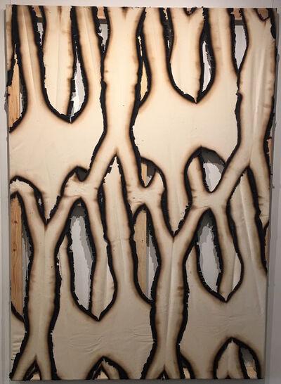 Ariel Schlesinger, 'Untitled (Burnt Canvas)', 2016