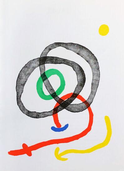 Joan Miró, '1960s Miró lithograph (derriere le miroir) ', 1967