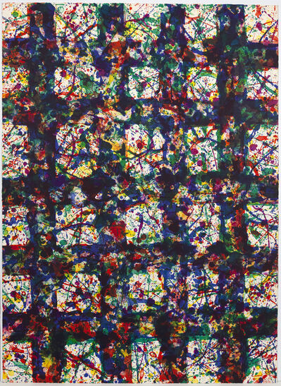Sam Francis, 'Untitled (Blue Matrix)', 1978