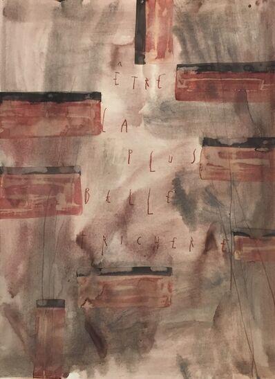 ARPAÏS du bois, 'Etre la plus belle tricherie', 2016