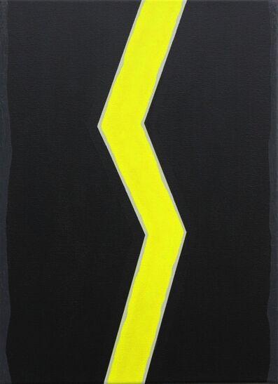 Alex Gene Morrison, 'Shockwave Fluro Yellow', 2014
