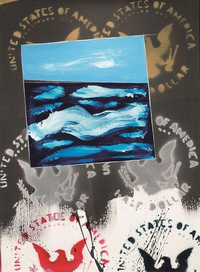 Franco Angeli, 'Oltreoceano', 1977