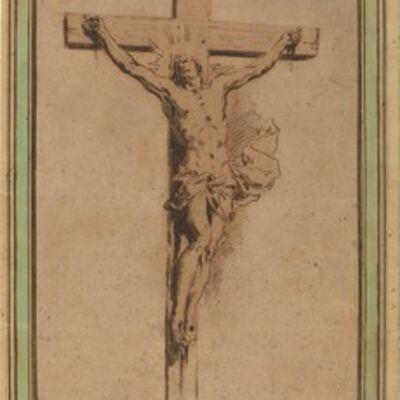 Alessandro Algardi (1598-1654), 'Christ on the Cross', 1647