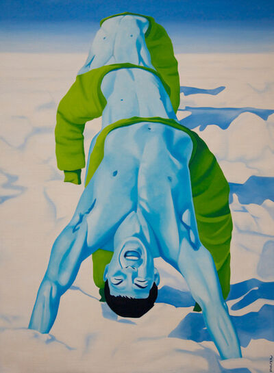 Christian Develter, 'Koryo Blue II', 2017