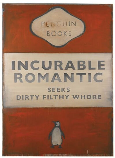 Harland Miller, 'INCURABLE ROMANTIC ', 2006