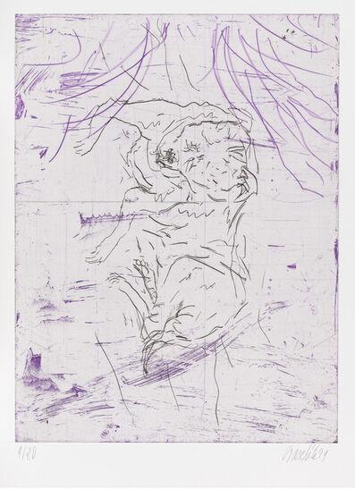 """Georg Baselitz, 'Zephir, from """"Schlafende Hunde""""', 1998-1999"""