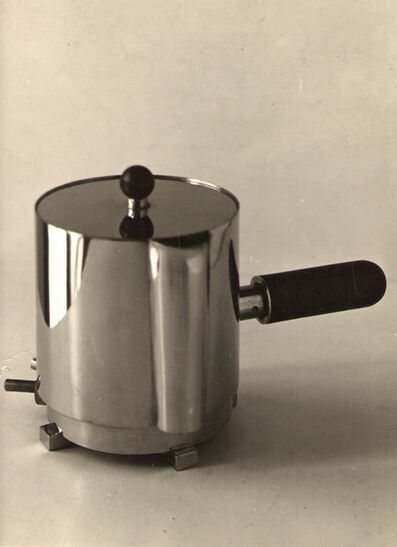 Bauhaus Metal Workshop, 'Electric Tea Kettle, Bauhaus Weimar, stainless steel', 1923-1928