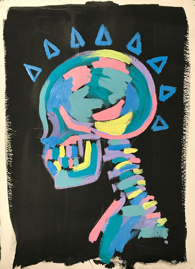 Bradley Theodore, 'Skull Spikes', 2016
