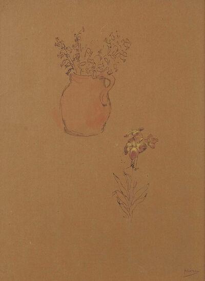 Pablo Picasso, 'Nature Morte, Vase avec fleurs', Gosol-1906