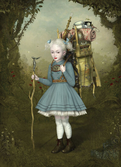 Ray Caesar, 'With all her Worldy Possessions', 2017
