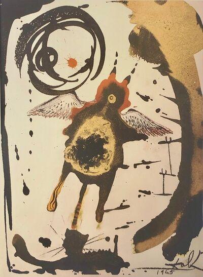 Salvador Dalí, 'The Creation of Flying Things, 'Creatio Volatilium', Biblia Sacra', 1967