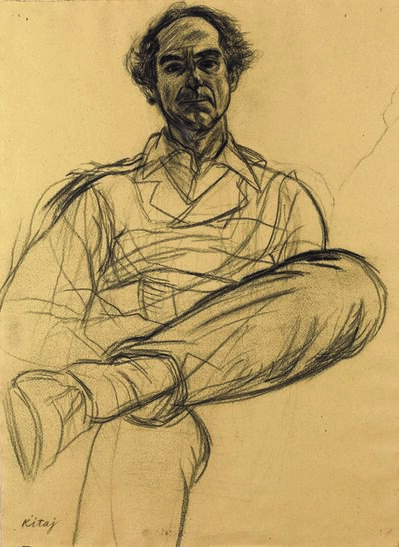 R. B. Kitaj, 'Portrait of Philip Roth'