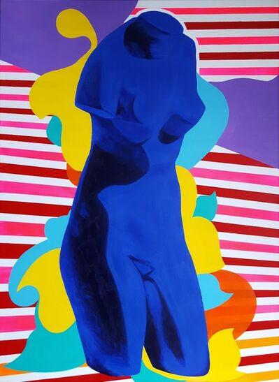 Jack Graves III, 'The Venus of Alexandria Icon (Yves Klein)', 2019