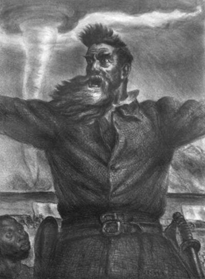 John Steuart Curry, 'John Brown', 1939