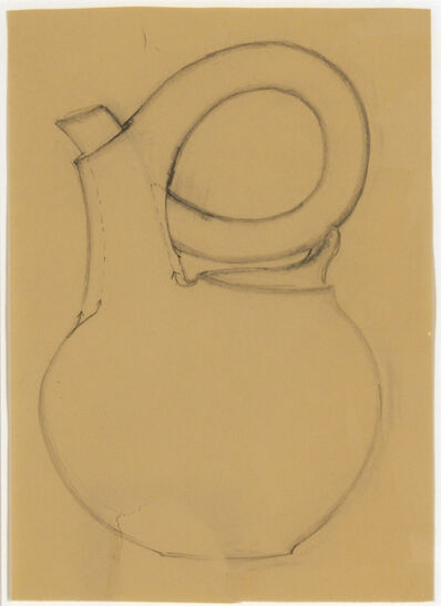 Christine Nofchissey McHorse, 'Untitled Drawing (Black Teapot)', 2010