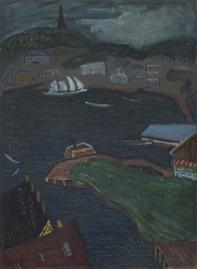 Milton Avery, 'Choppy Harbor', ca. c. 1930s
