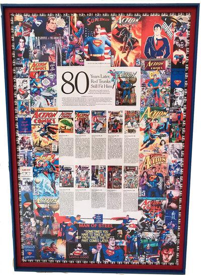 DJ Leon, 'Superman Anniversary of 1,000th Ed. of DC Comic', 2018