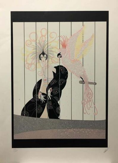 Erté (Romain de Tirtoff), 'Birdcage', Unknown