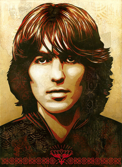 Shepard Fairey, 'George Harrison', 2015