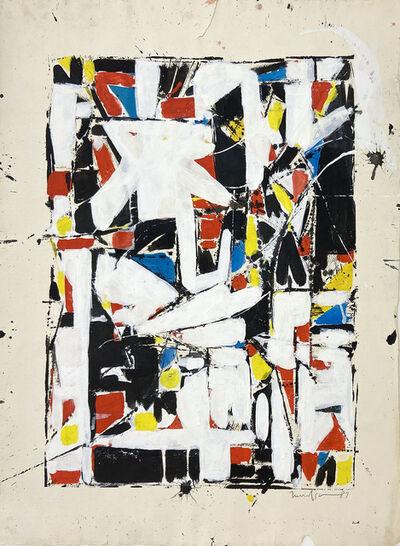 Beatrice Mandelman, 'Rendezvous #1 (80-AC 1-40)', 1987
