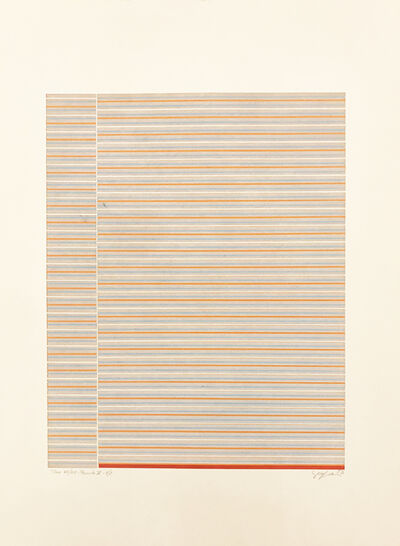 Ivan Serpa, 'Tema 85/127 -Permuta X', 1973